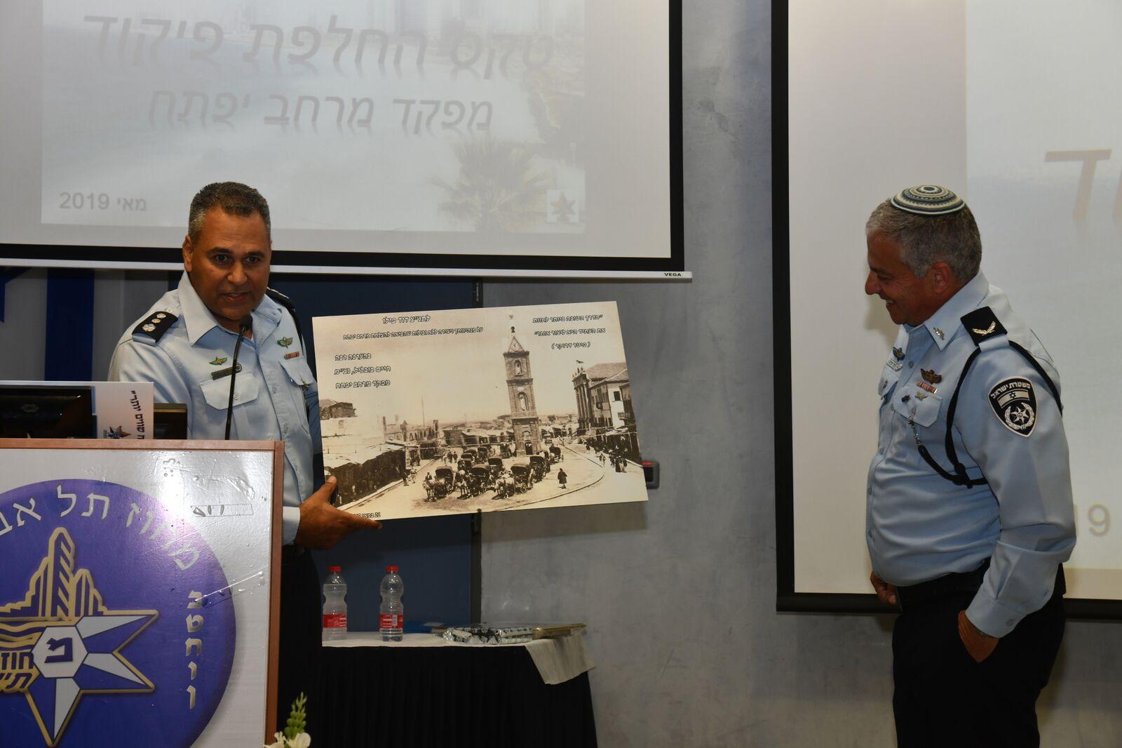فيديو: تعيين قائد جديد للشرطة في يافا بحضور شخصيات ورجال أعمال