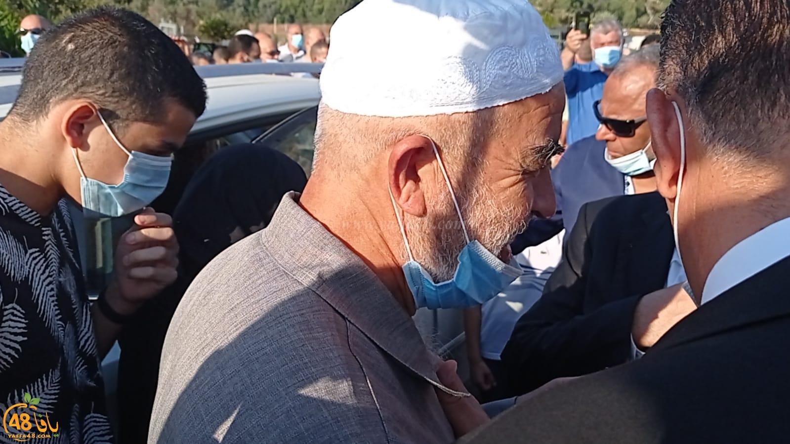 فيديو: لحظة دخول الشيخ رائد صلاح الى السجن