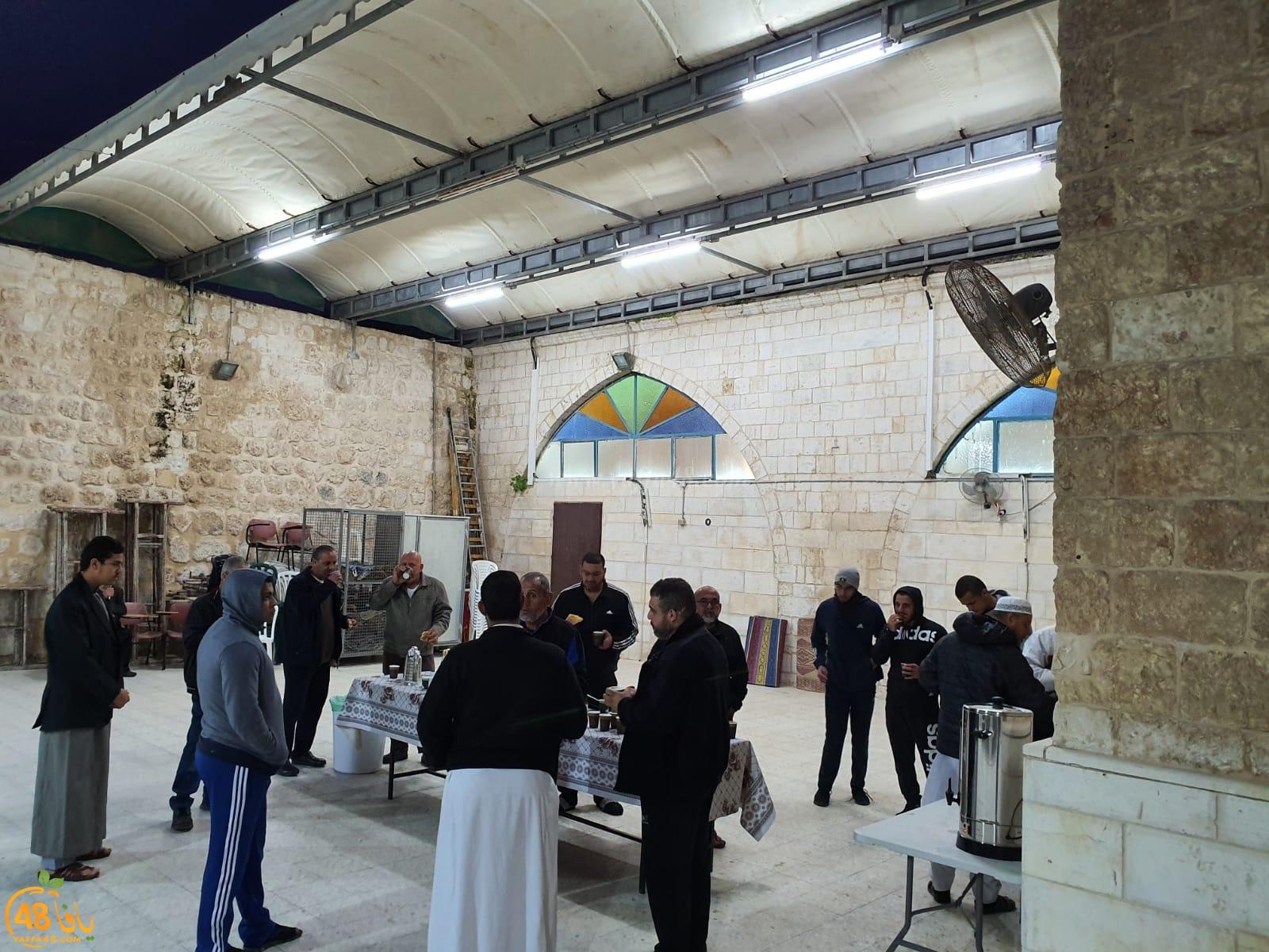 اللد: احياء صلاة الفجر العظيم في المسجد العمري الكبير بالمدينة
