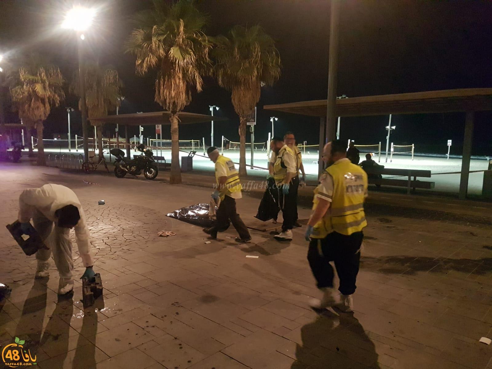فيديو: مصرع شخص سقط عن علو قرب شاطئ البحر شمال يافا
