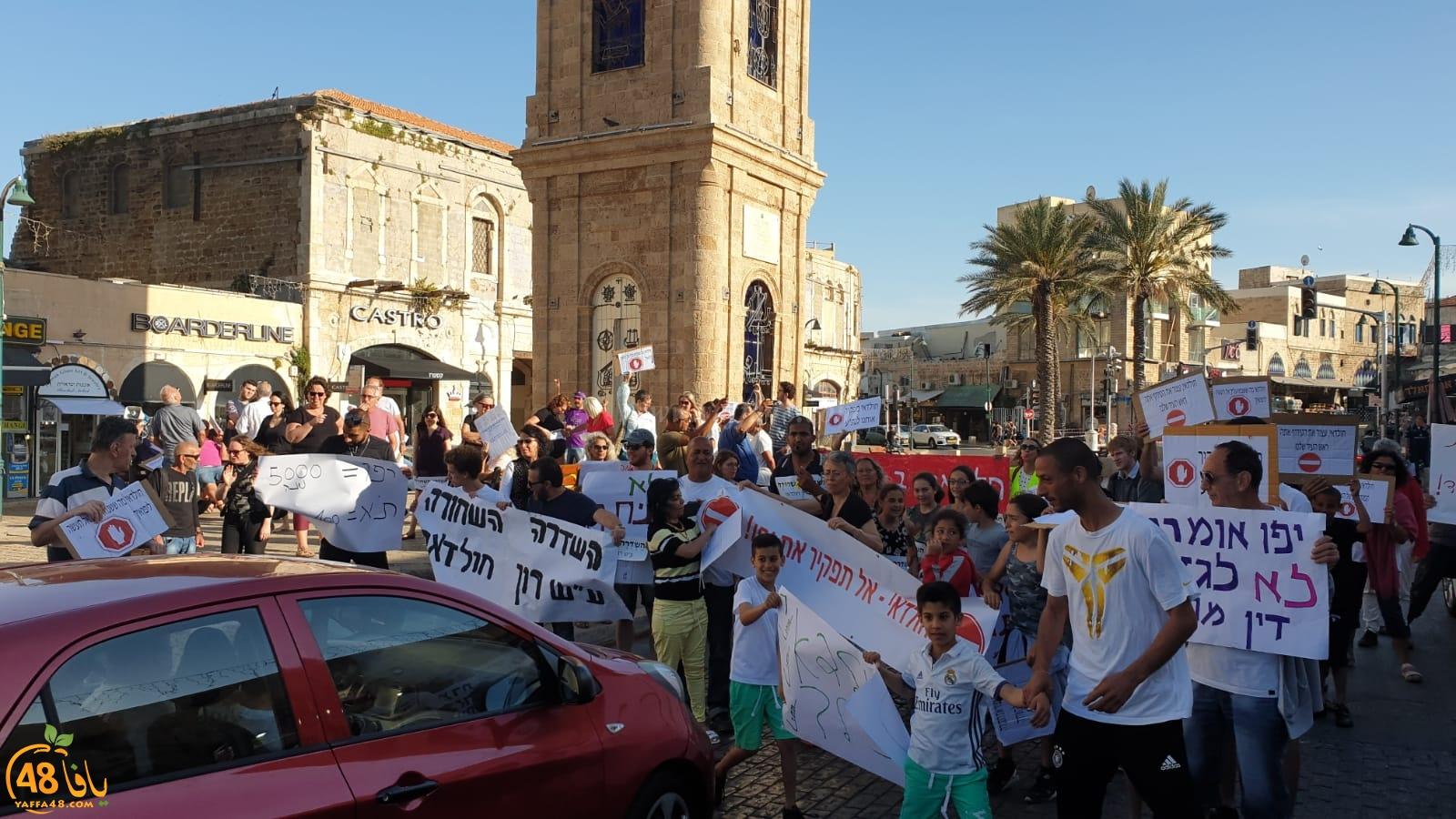 هكذا تم احكام الحصار على سكان شارع شديروت يروشلايم بمدينة يافا