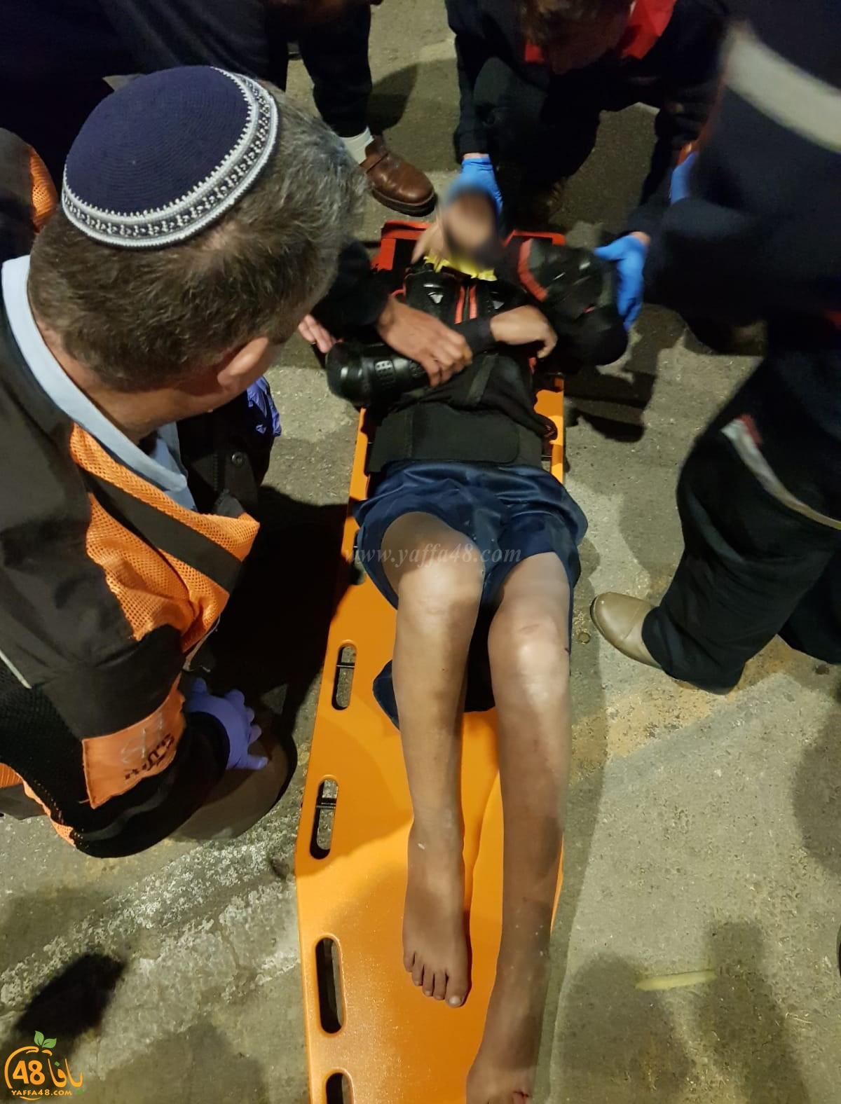 اللد: إصابة متوسطة لفتى بحادث دهس بالمدينة