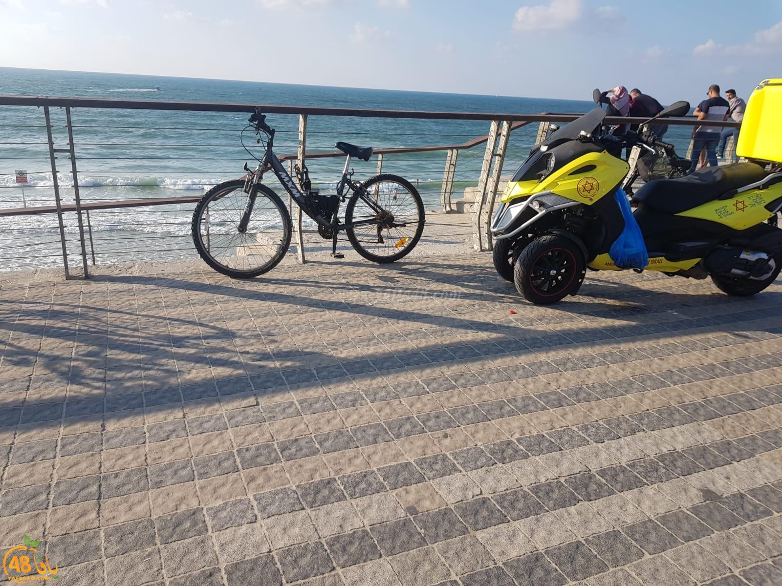 اصابة طفيفة لشاب تعرض لحادث غرق على شاطئ يافا
