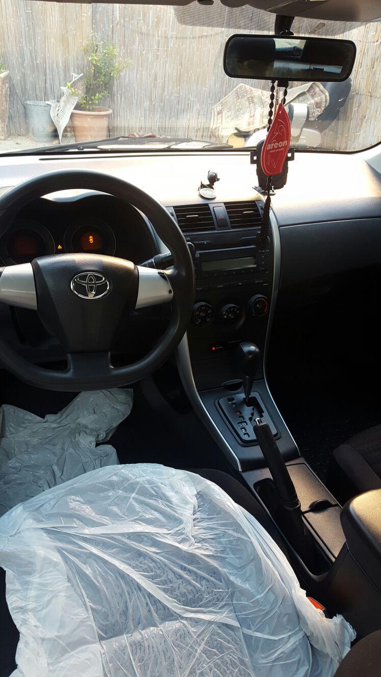 للبيع: سيارة تويوتا موديل 2011 بسعر 39 ألف شيقل