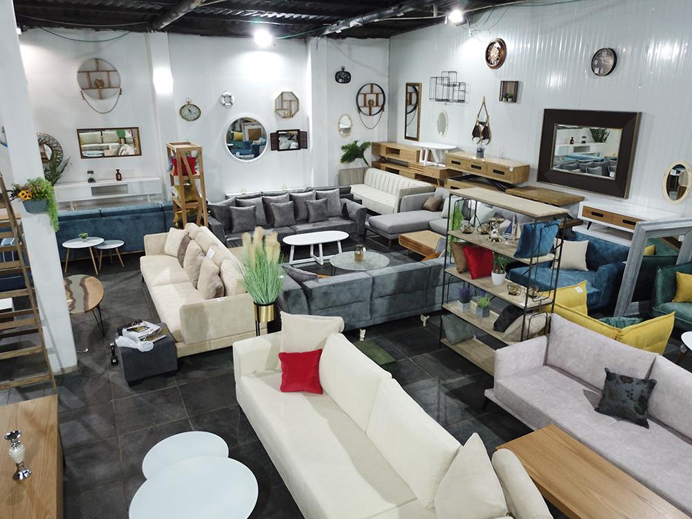 فيديو: مفروشات المصنع بيافا أكبر صالة عرض للأثاث المنزلي بيافا