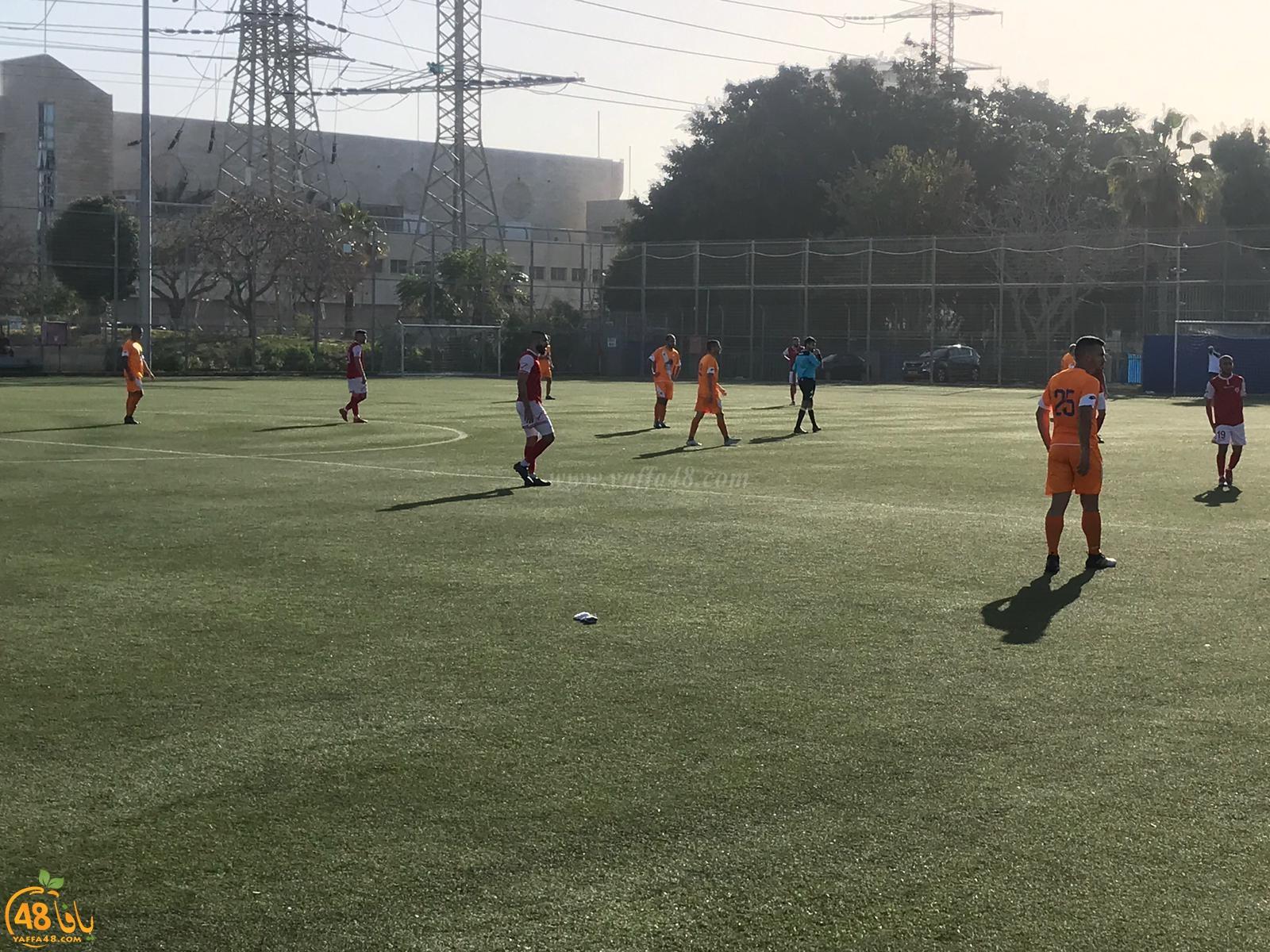 بالصور: فريق أبناء يافا يفوز على هوري حشبون بنتيجة 3-2