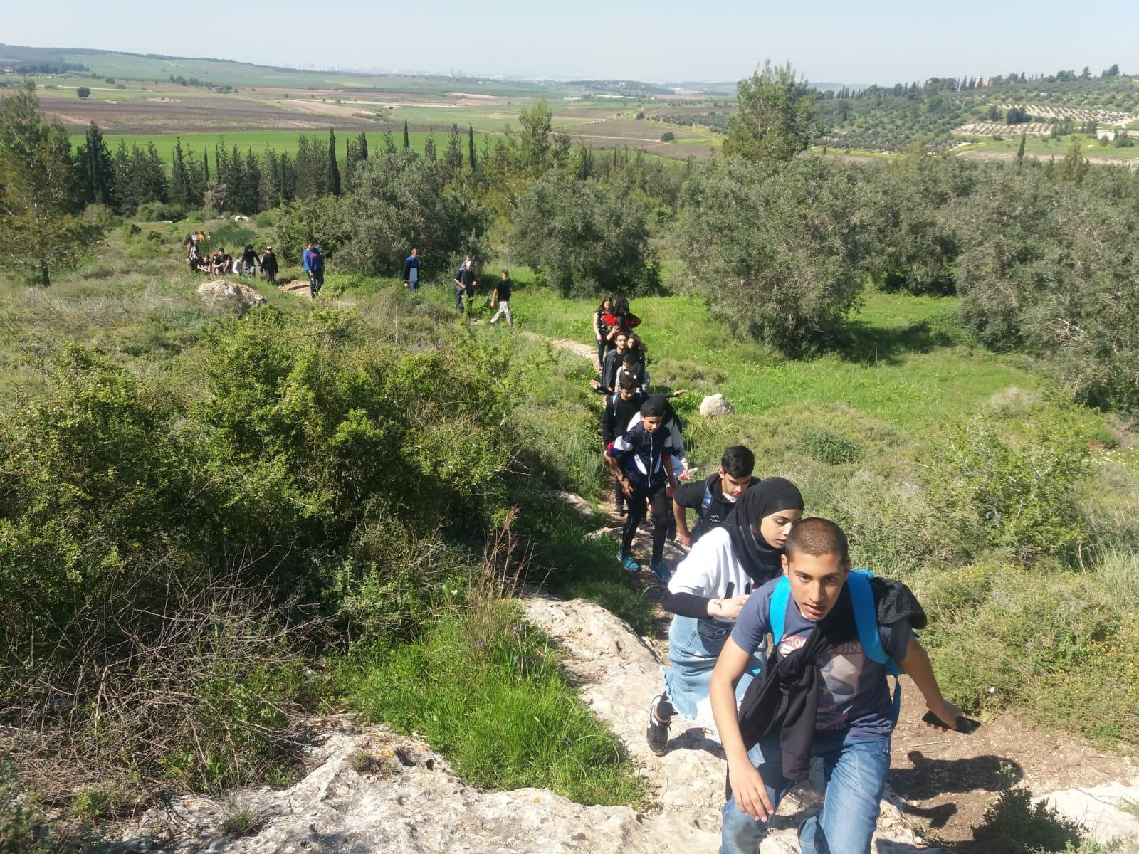 نزهة ربيعية في اجواء الطبيعة المقدسية لابناء نادي شبيبة يافاتي