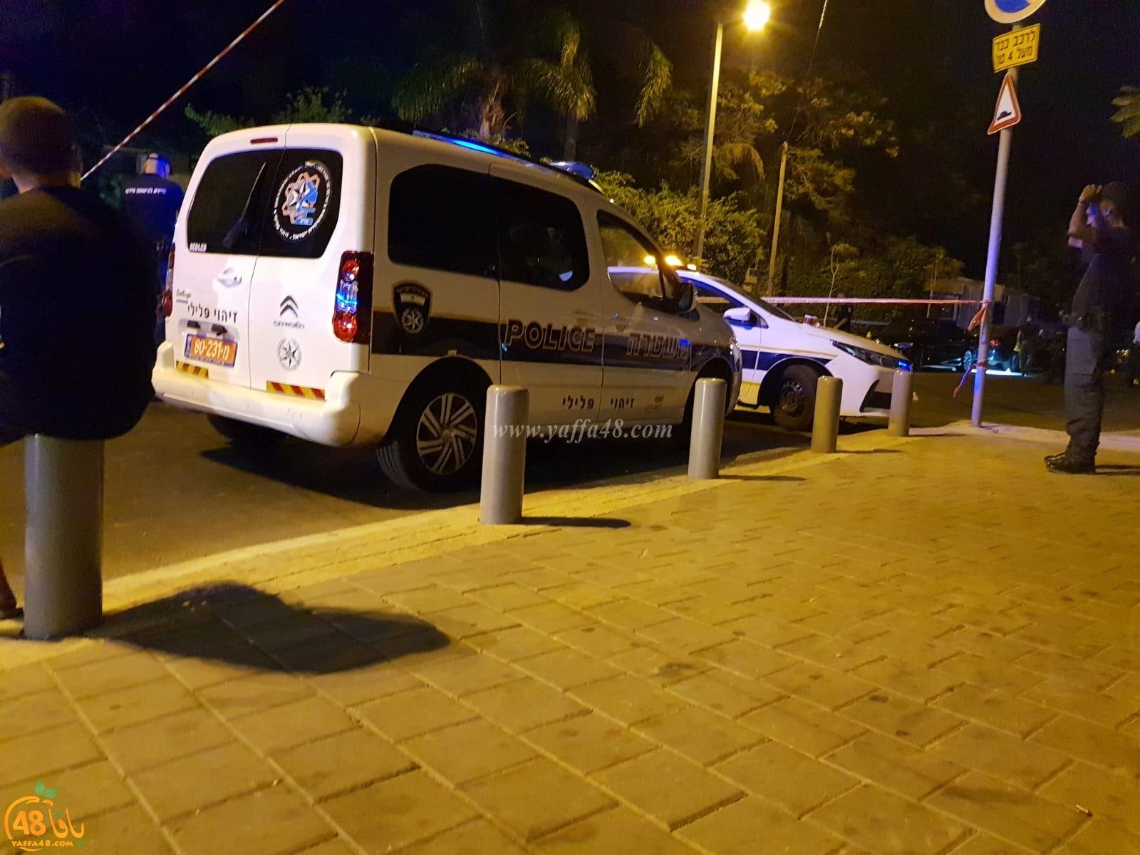 الشرطة: 5 إصابات في حادثة اطلاق نار بمدينة يافا