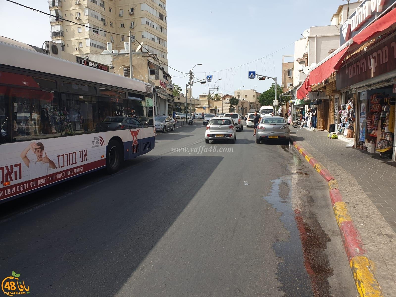 يافا: مطالب بإنشاء مطبات في شارع ييفت للحد من السرعة الزائدة وحوادث السير