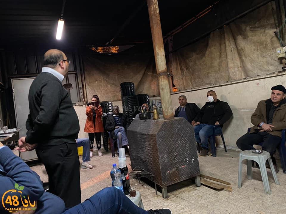 النائب سامي أبو شحادة في حلقات بيتية واجتماعات شبابية في اللد والرملة