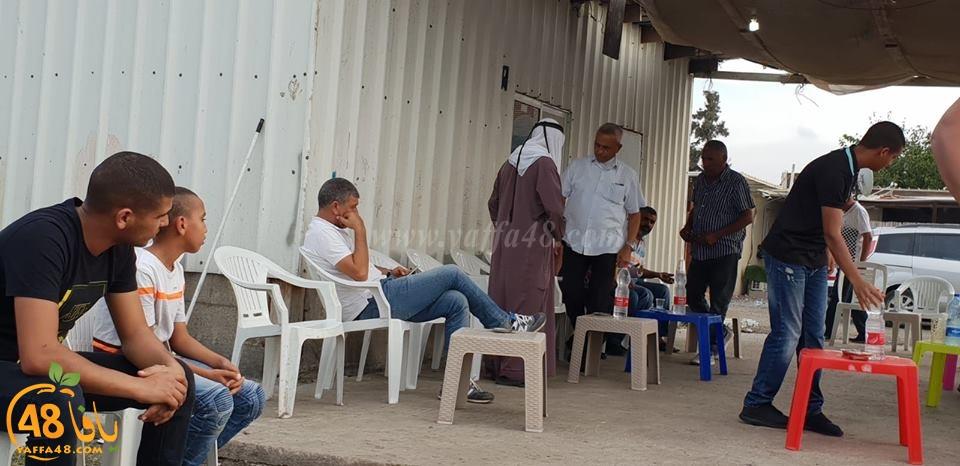 بالصور: عقد راية الصلح بين عائلة أبو سرحان من اللد والشمالي من الرملة