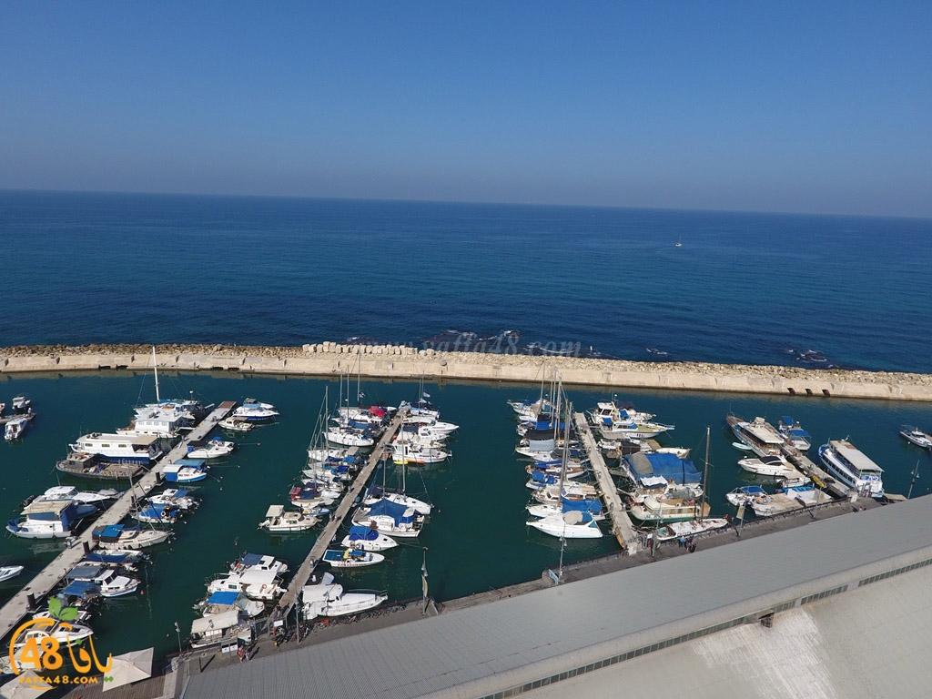 شاهد: جولة في سماء ميناء يافا التاريخي أبرز معالم المدينة