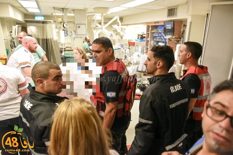 يافا: بتر يد فتى 14 عاماً وطواقم الانقاذ تعمل على انتشالها من داخل مطحنة