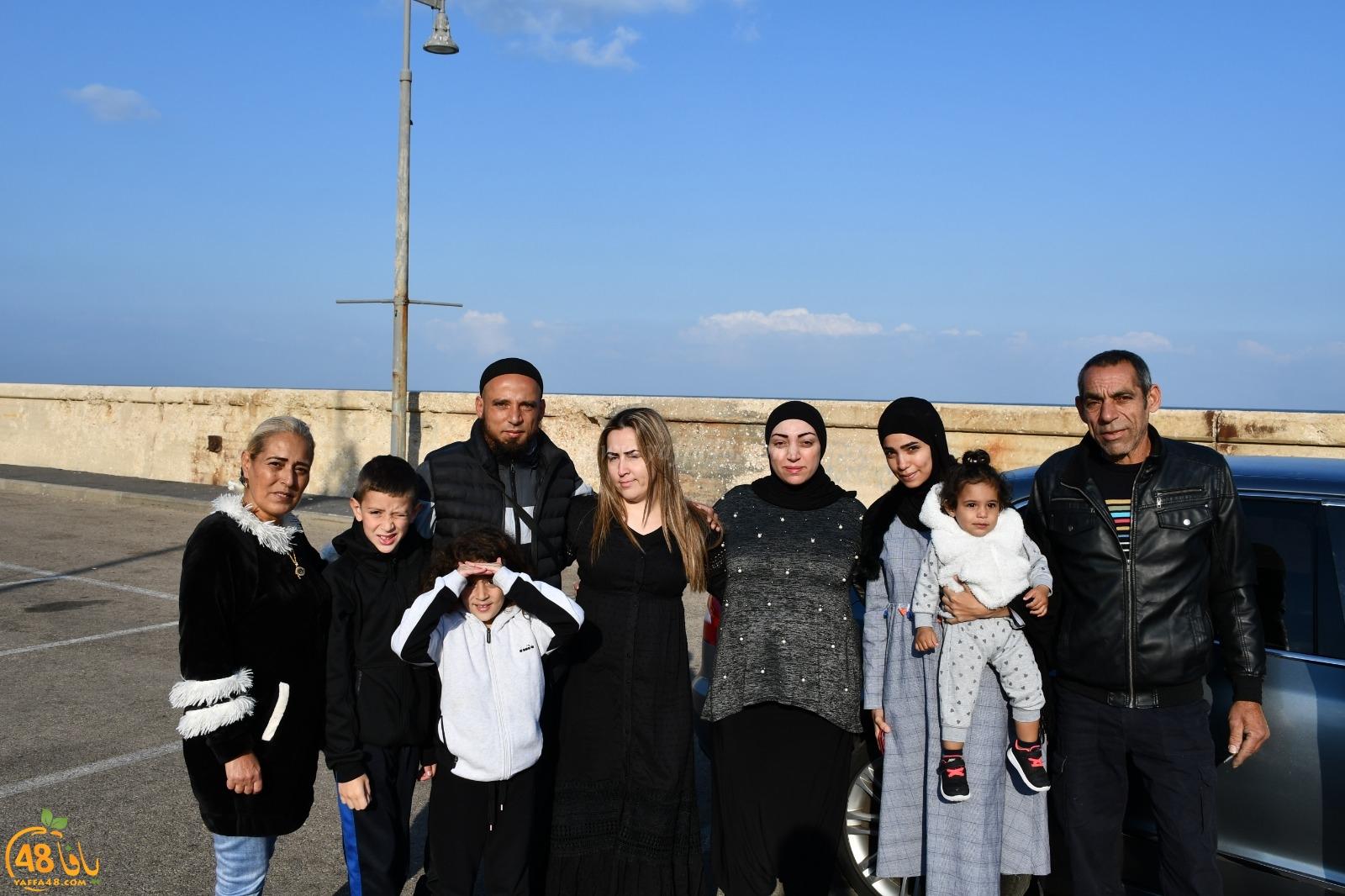 بالصور: إنطلاق الفوج الثالث من معتمري مدينة يافا للديار الحجازية لأداء عمرة الربيع