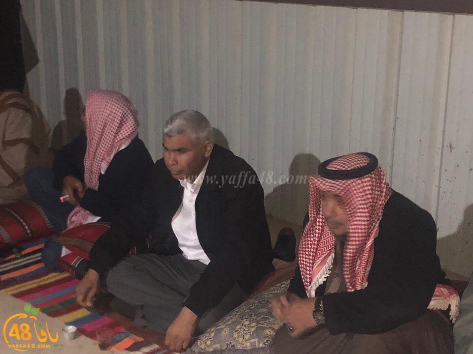 اجتماع حاشد لأهالي بئر هداج في أعقاب الاعتداء على المواطنين