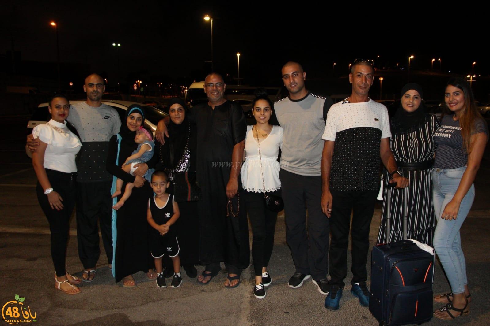 بالصور: انطلاق حافلة الفوج الثاني من حجاج مدينة يافا الى الديار الحجازية