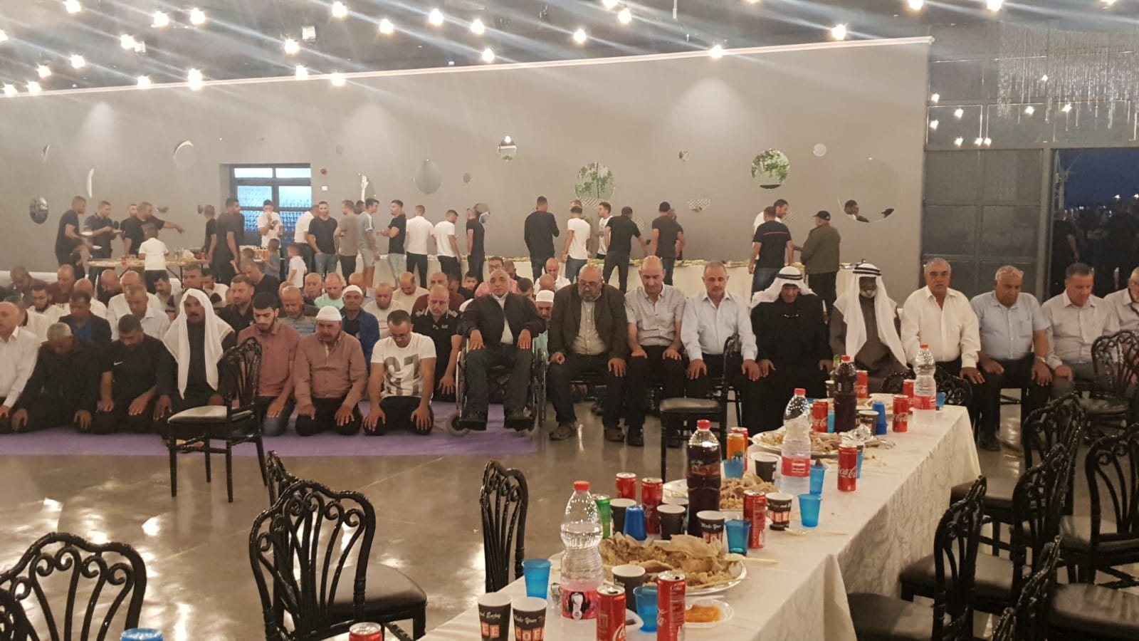 اللد: إفطار جماعي لأبناء اللد بمناسبة انتهاء موسم الدوري الممتاز