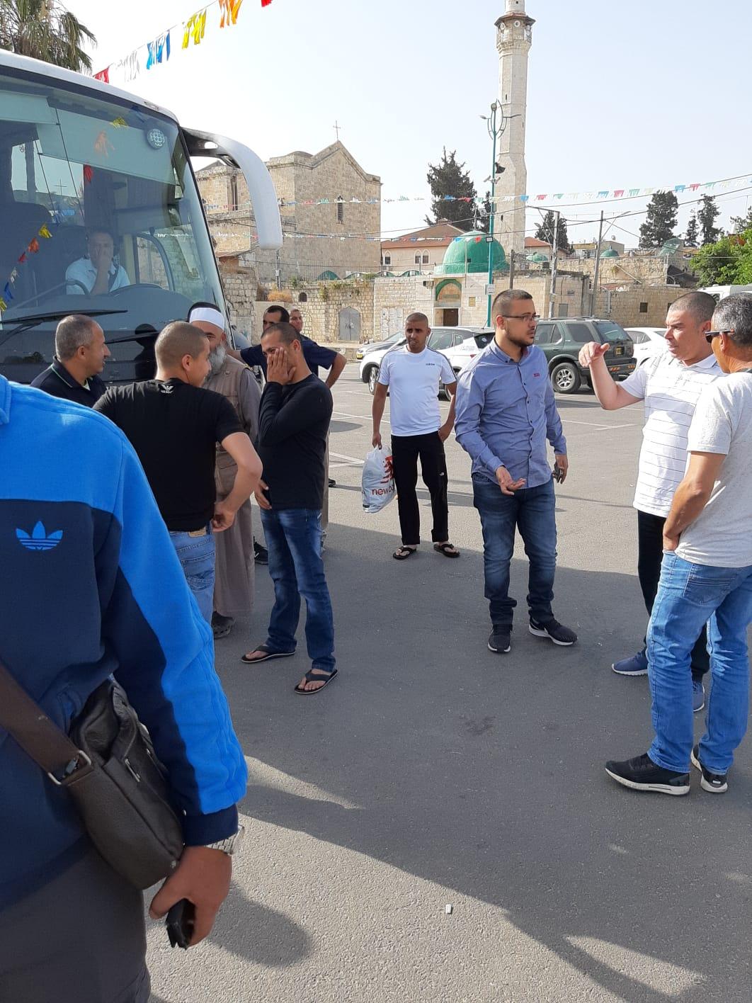 اللد : معتمرو اللد الرملة (البرّ) العشر الاواخر يغادرون لاداء مناسك العمرة