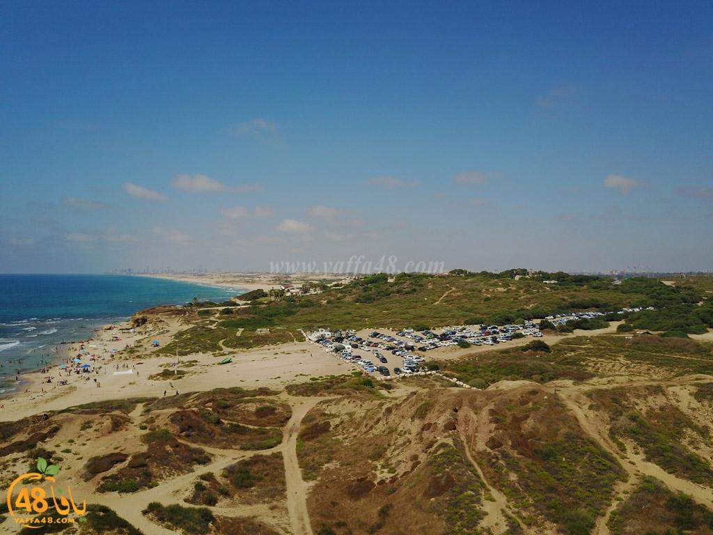 فيديو: مشاهد جوية رائعة لقرية روبين المهجرة جنوب يافا