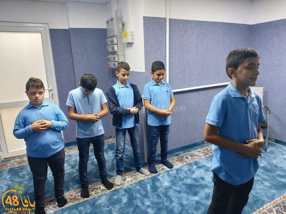 ليتهم طبقوا هذه الفكرة في مدارسنا - افتتاح مصلى لطلاب مدرسة ابتدائية في قرية مصمص
