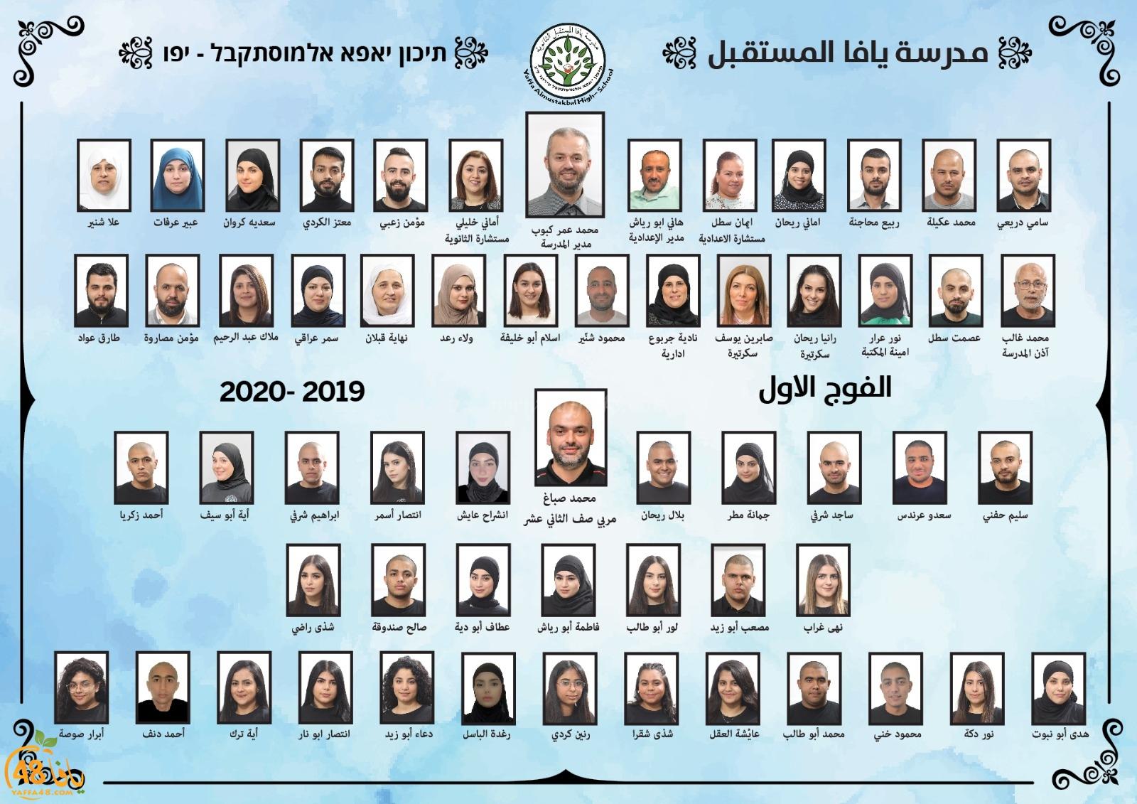 ثانوية يافا المستقبل تحتفل بتخريج فوجها الأول