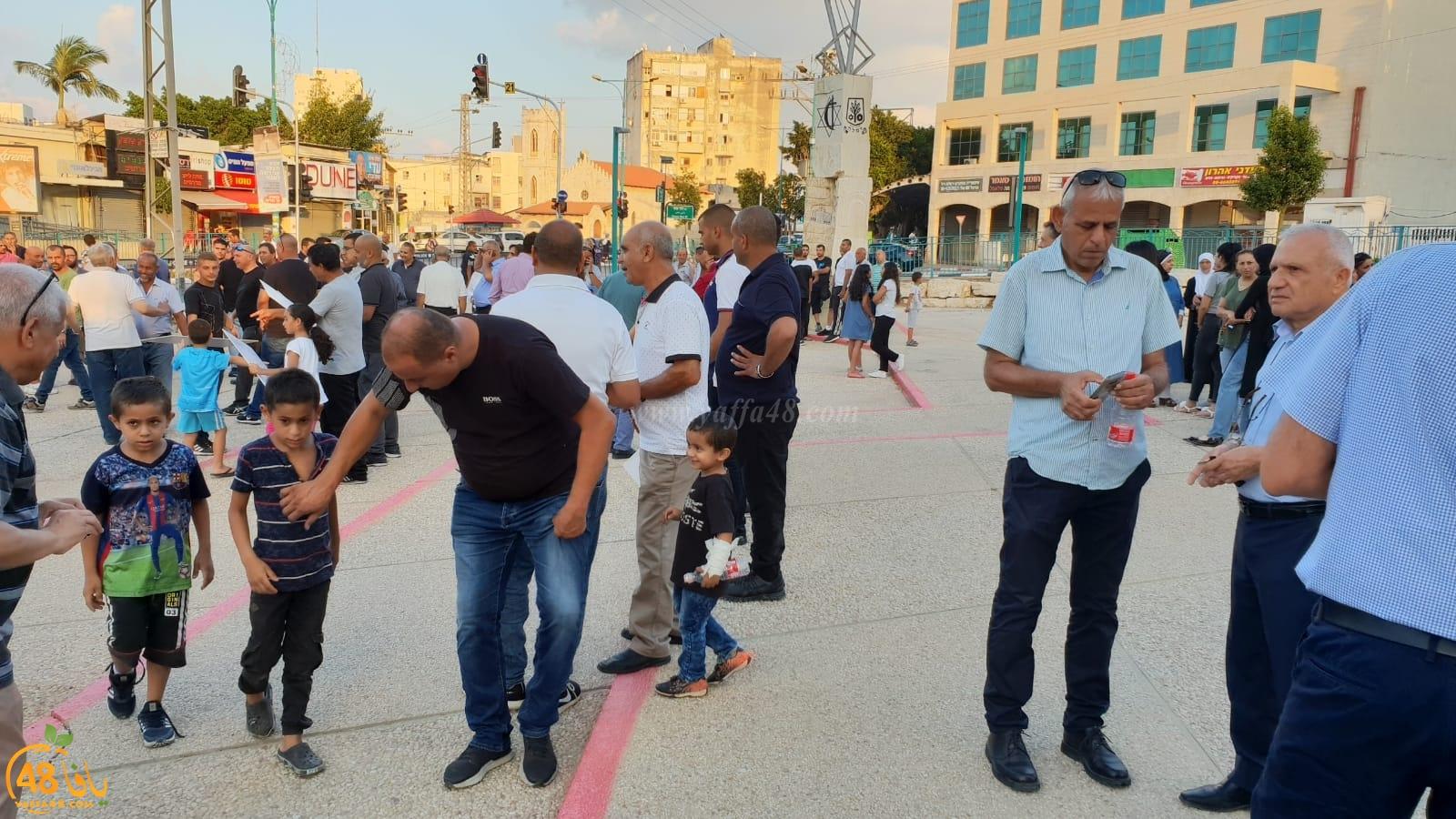 بالصور: مشاركة واسعة في تظاهرة مناهضة للقوميّة في الرملة