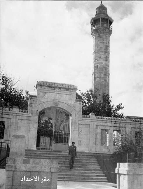 صورة نادرة تُعرض للمرة الأولى لمسجد حسن بك في مدينة يافا