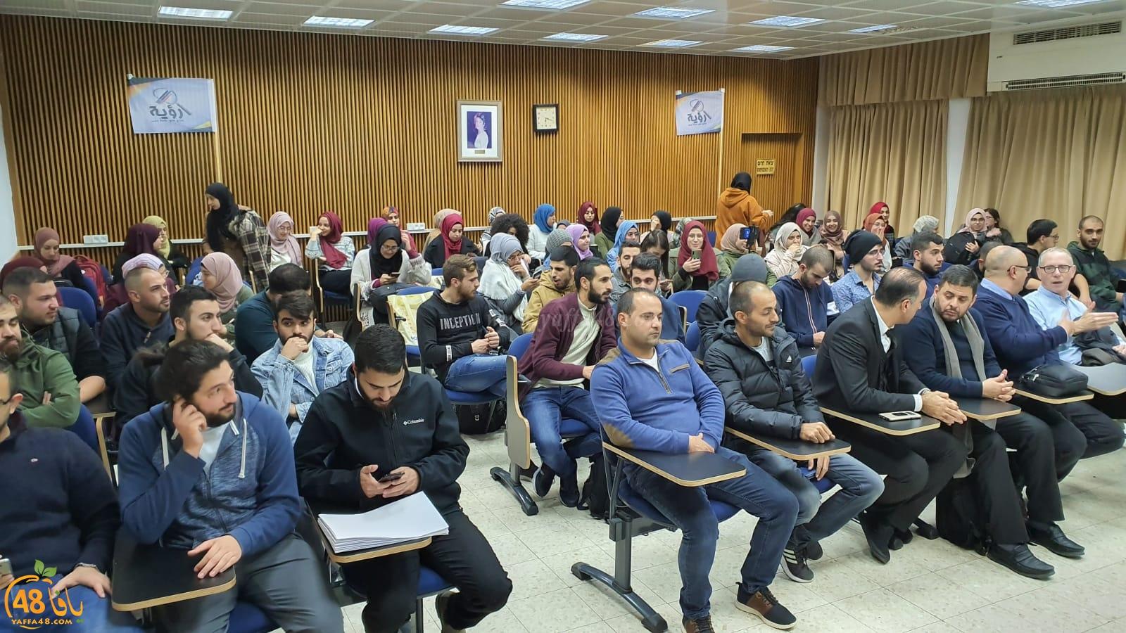 كتلة رؤية الطلابية تفتتح المصلى في جامعة تل ابيب