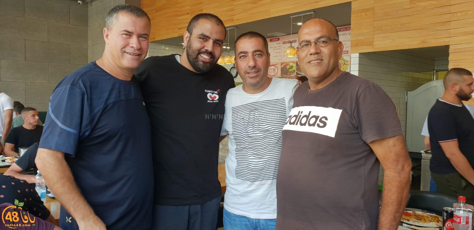 بالصور: لقاء يجمع لاعبي فريق أبناء اللد مع الإدارة الجديدة للفريق