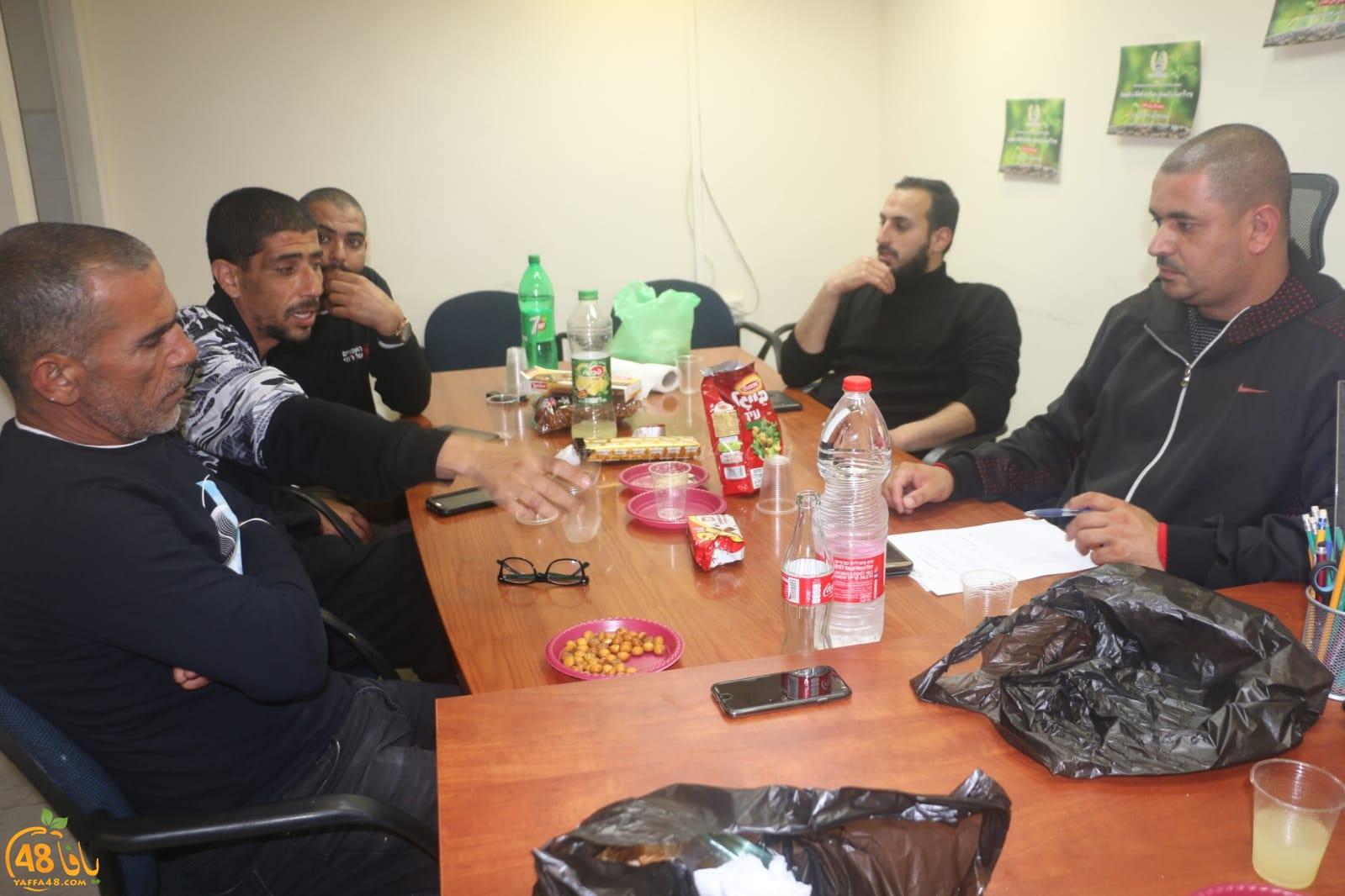 ادارة جمعية يافا للاغاثة الانسانية تجتمع استعداداً لاستقبال شهر رمضان المبارك