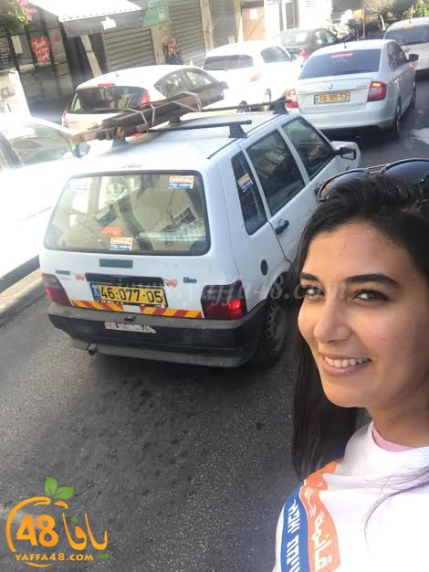 بالصور: قائمة يافا تلاقي ترحابًا عارمًا في الشارع