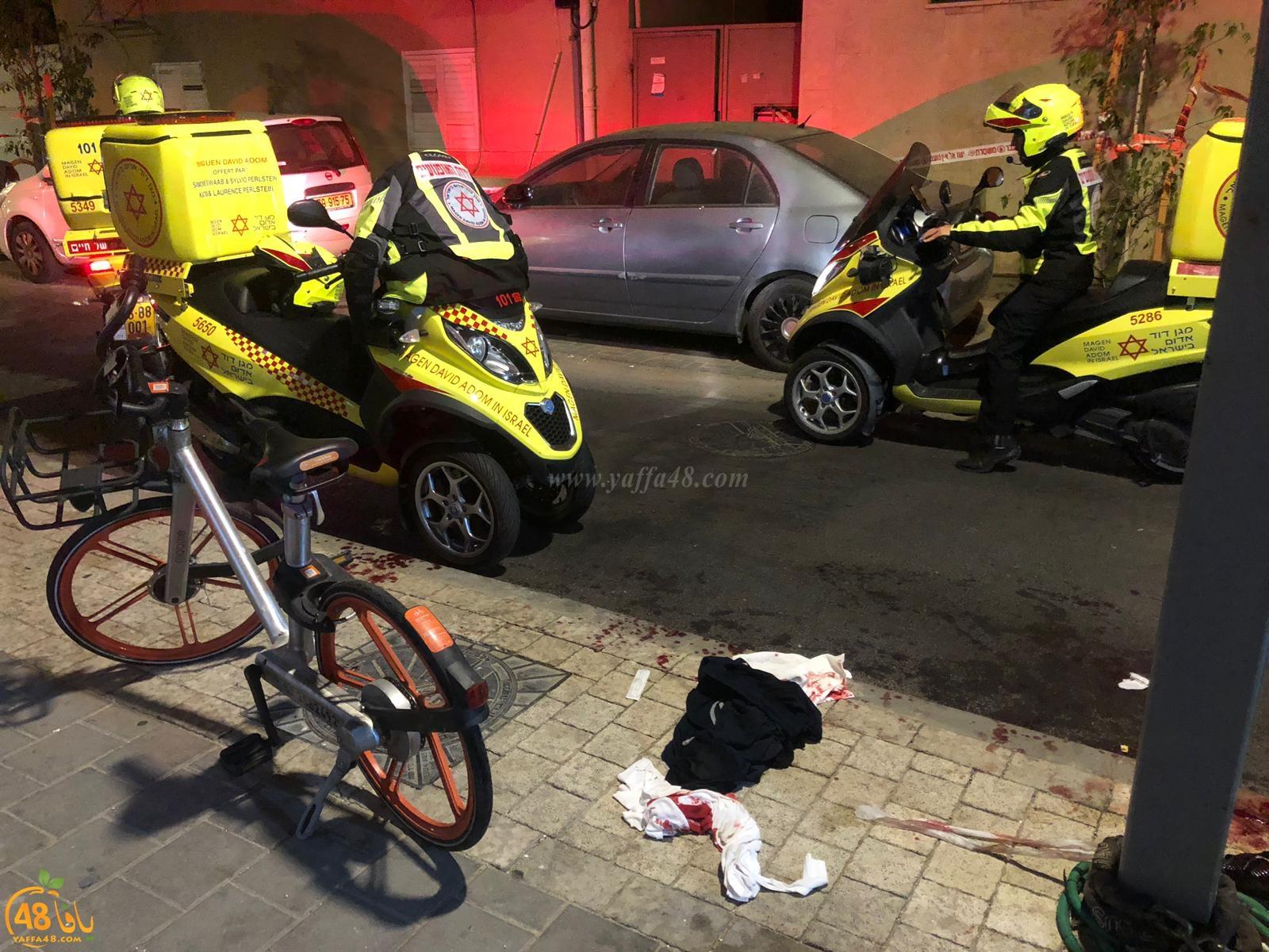 منتصف الليلة - اصابة متوسطة لأثيوبي بحادثة طعن شرق مدينة يافا