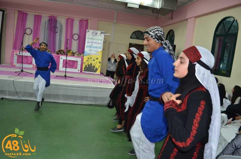 صور: مدرسة دار الحكمة الاعدادية تُنظم احتفالاً لطلاب الصف التاسع