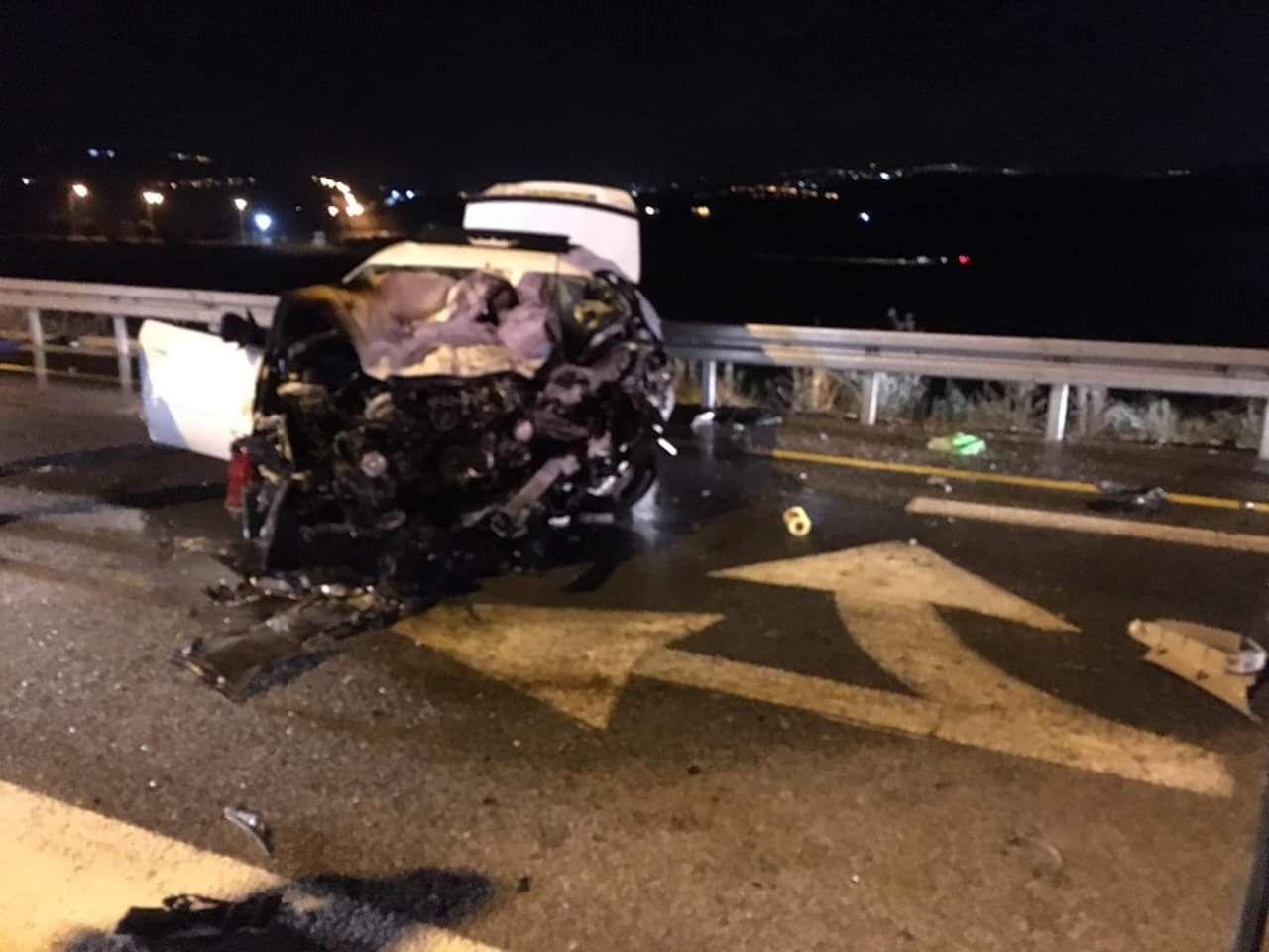 مصرع شخصين واصابة آخرين بحادث طرق مروّع قرب كفر مندا