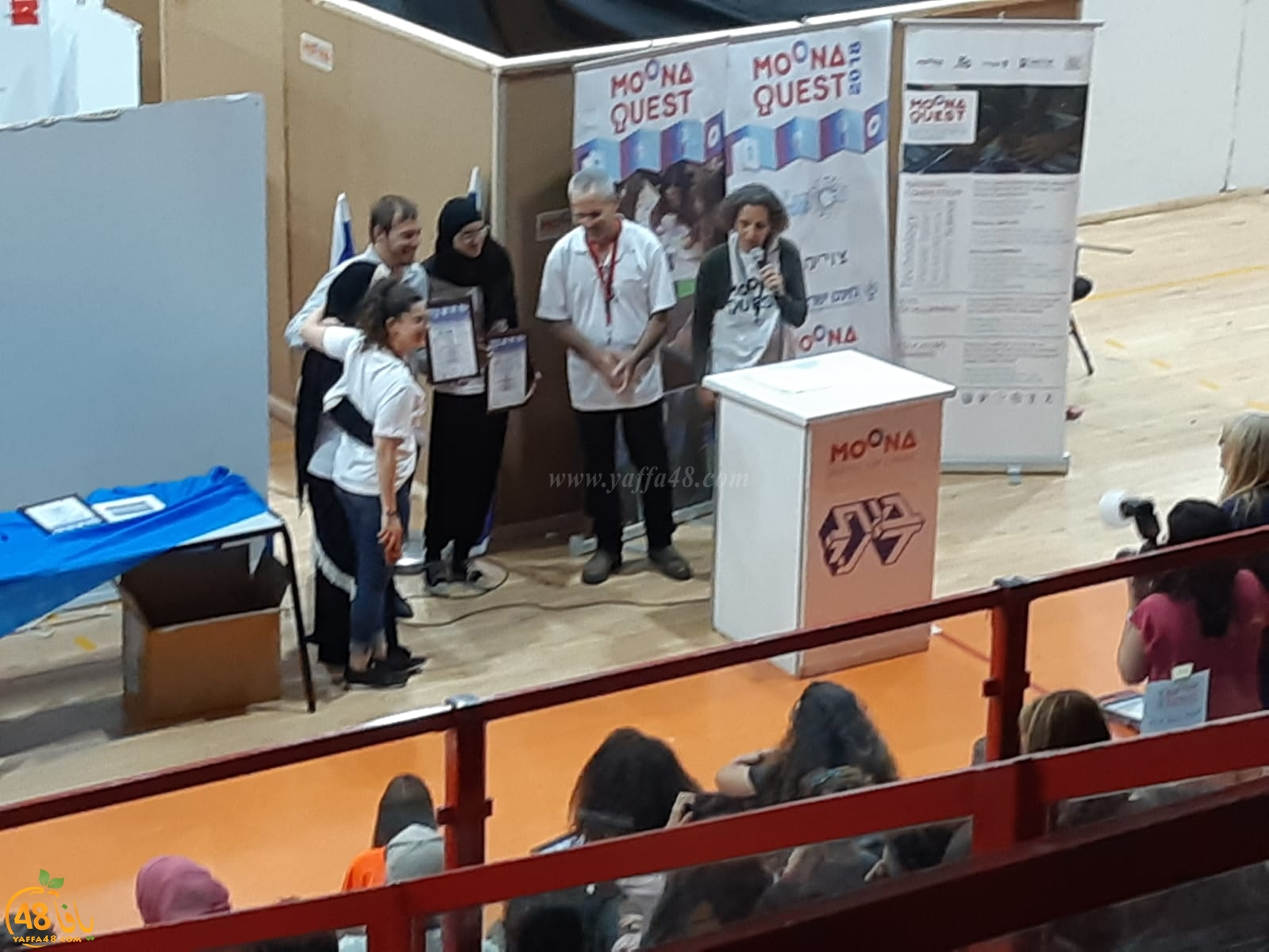طلاب الشاملة يحصلون على المرتبة الأولى قطرياً في مشروع غرفة الهروب