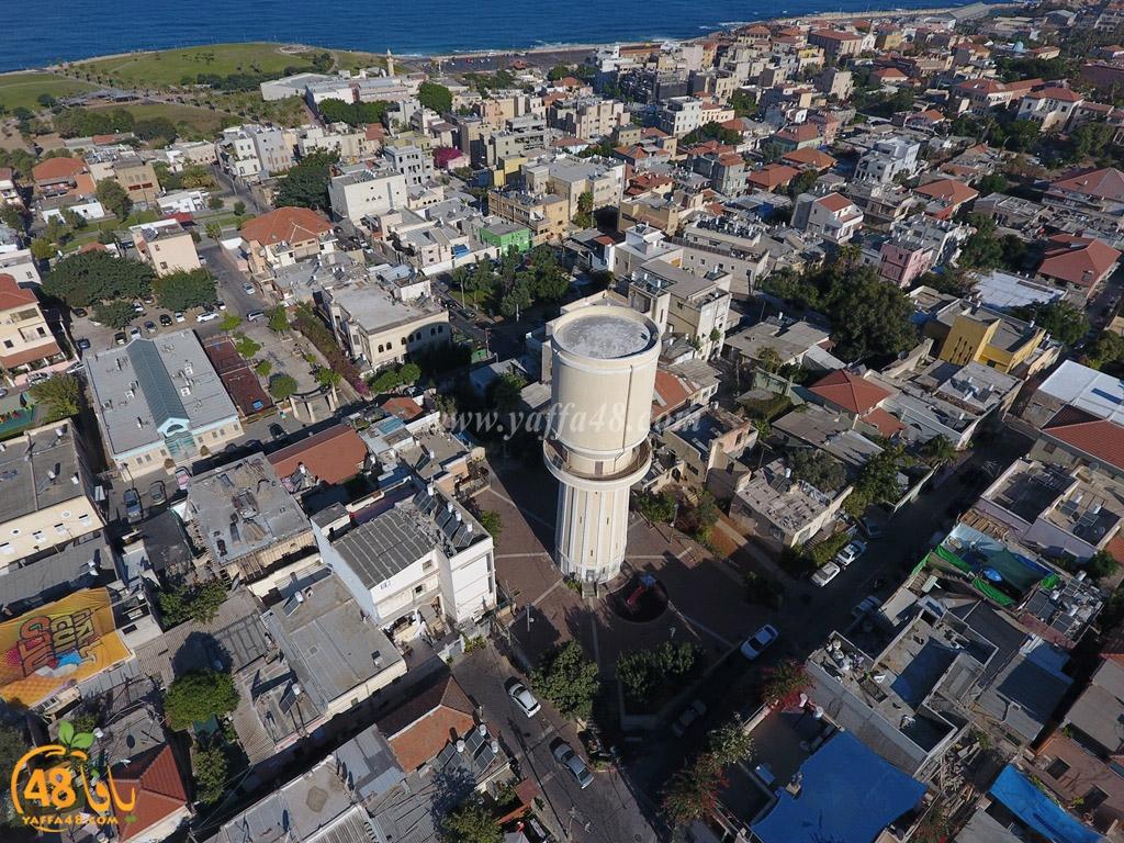 شاهد| حاووز يافا - بُني عام 1927 في أعلى نقطة بحي العجمي