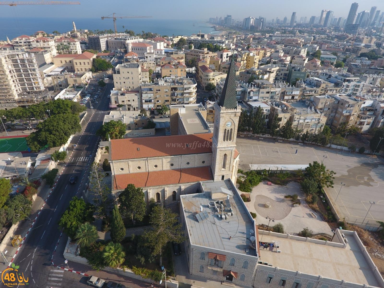 صورتي الأجمل - صور رائعة لمدينة يافا من السماء