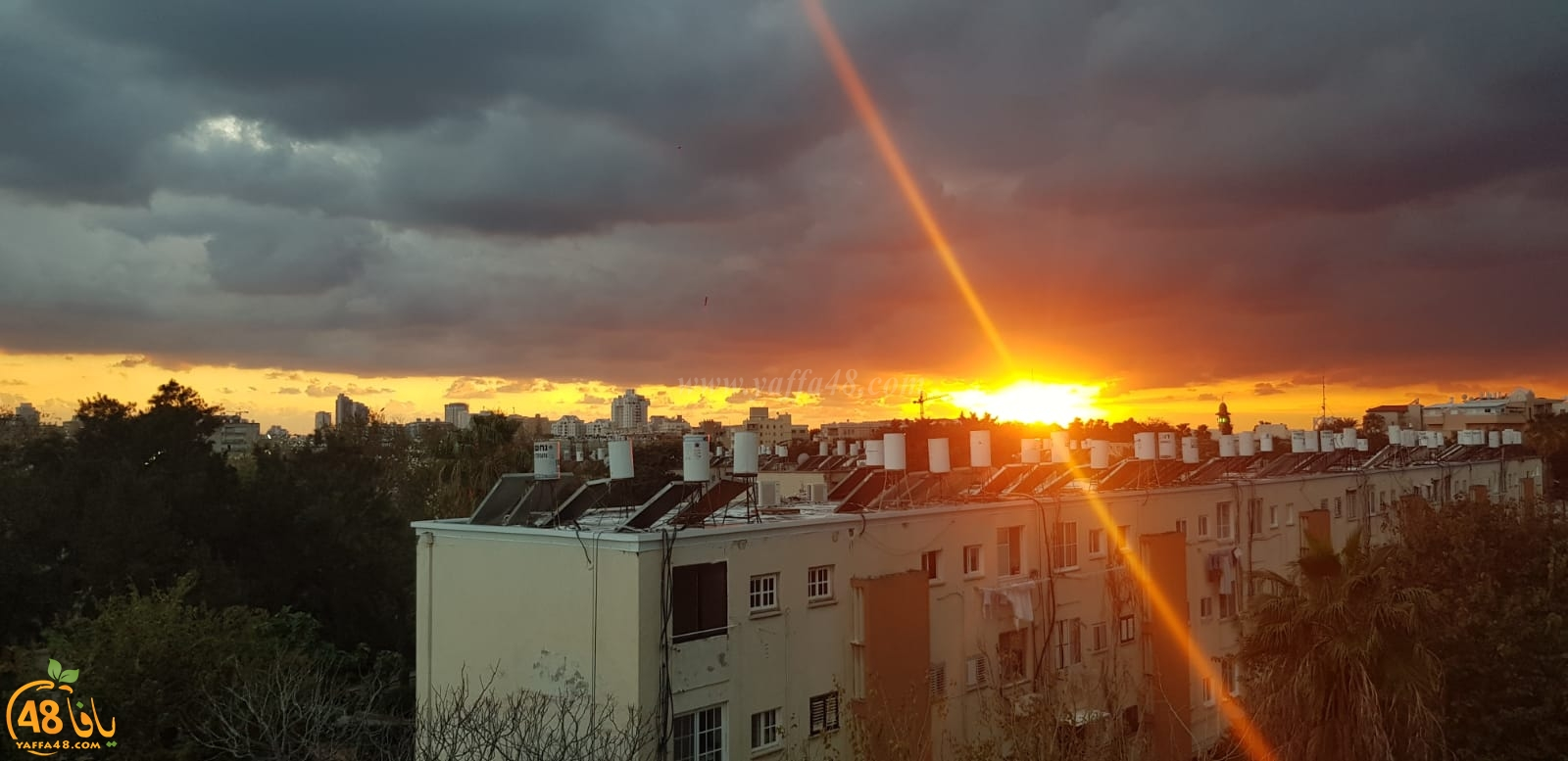 صورتي الأجمل: صور رائعة لغروب الشمس التقطت اليوم