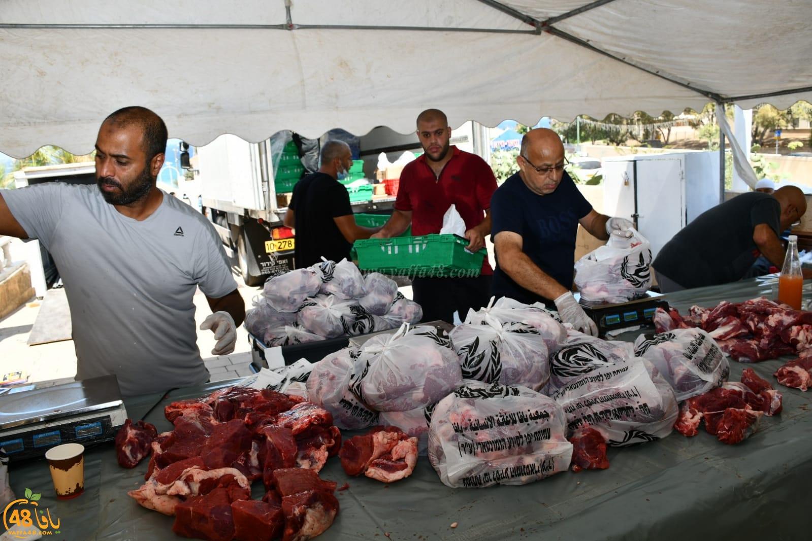 جمعية يافا تُنجز المرحلة الثالثة لمشروع الأضاحي