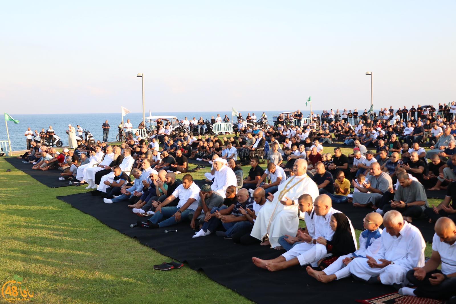 فيديو: مشاهد جويّة رائعة لصلاة عيد الأضحى في مدينة يافا