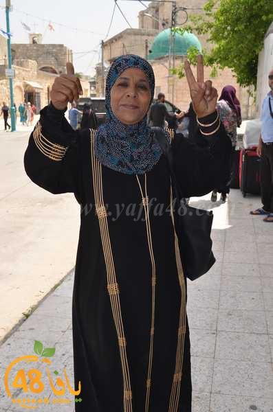 صور: عودة معتمري اللد والرملة البرّ الى ديارهم سالمين