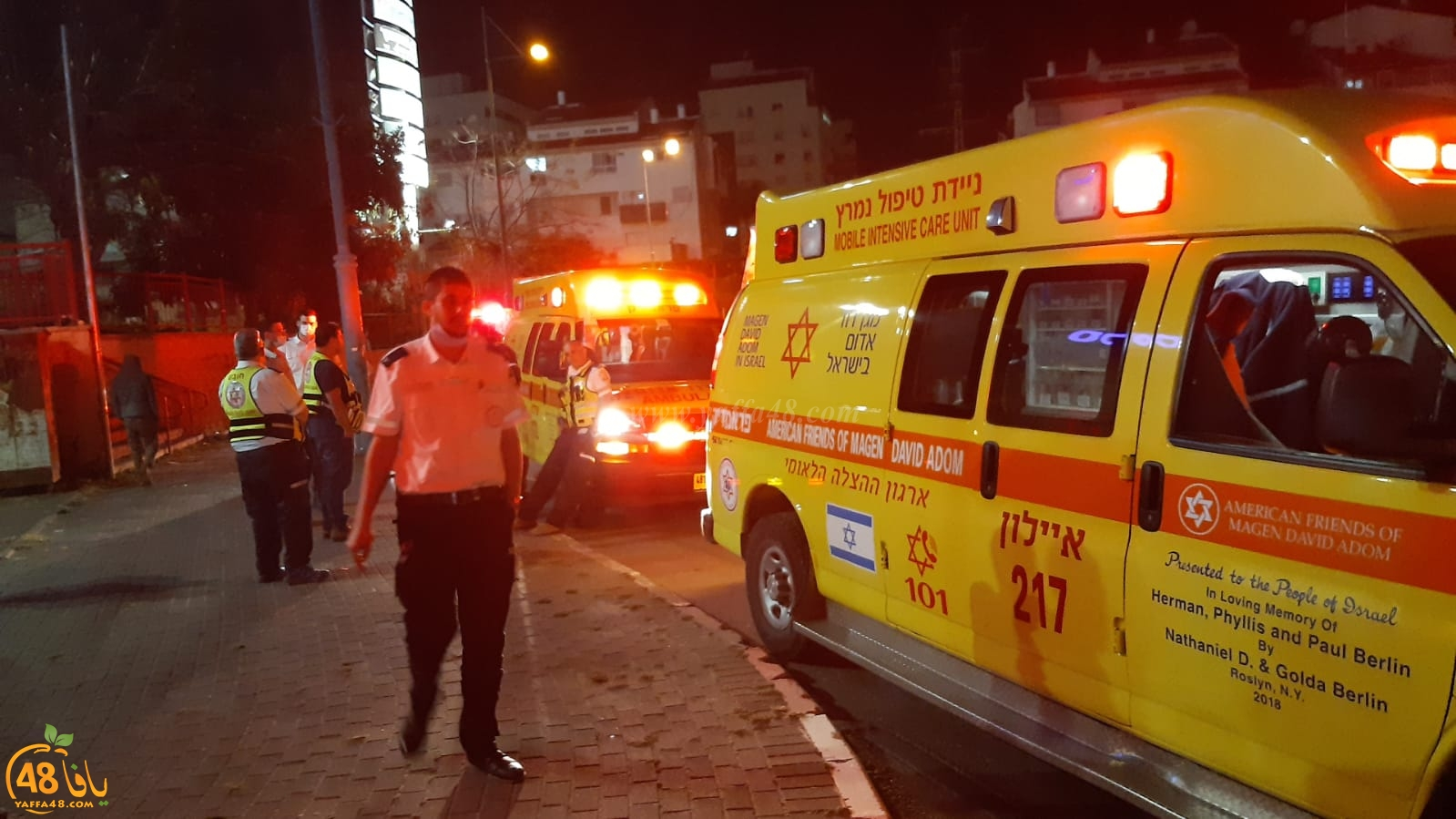 الرملة: اصابة باطلاق نار بحي جان حكال وقوات معززة من الشرطة تهرع للمكان