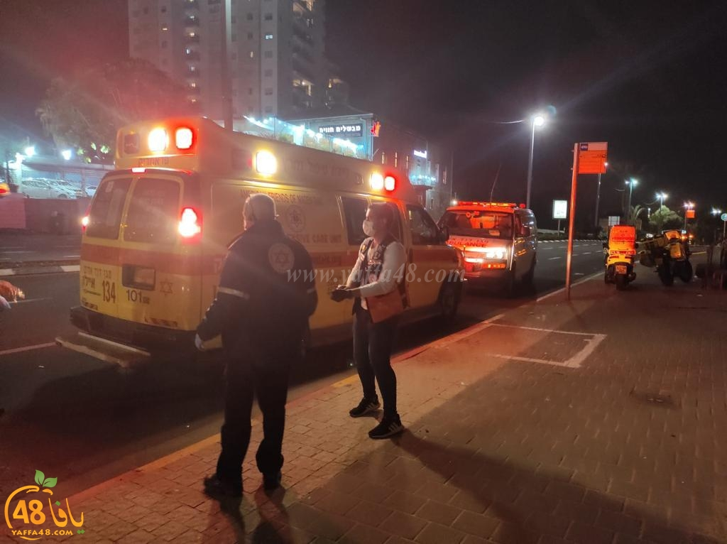 مصرع شاب اثيوبي اثر تعرضه لحادثة طعن شرق يافا