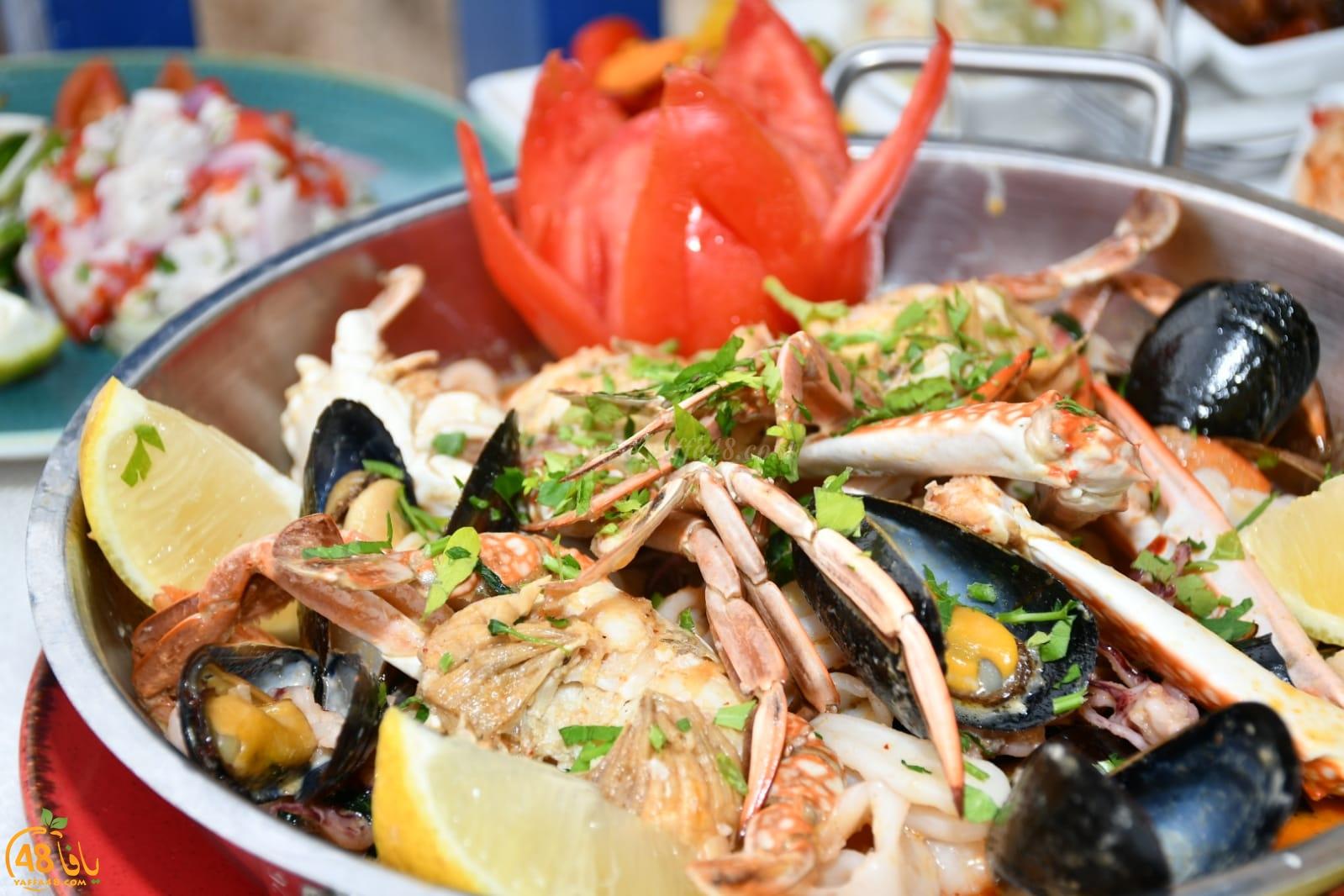 يافا: أشهى الوجبات البحرية الفاخرة في مطعم أبراج البلدة القديمة