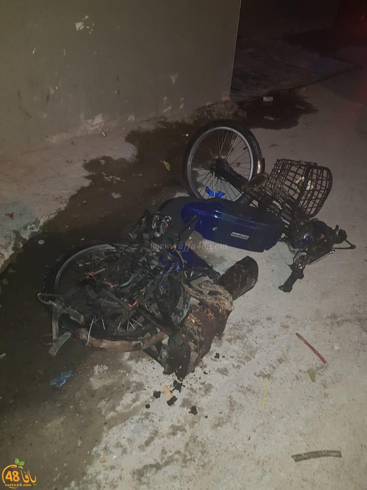الرملة: احتراق منزل في حي الجواريش بسبب احتراق بطاريات دراجة كهربائية