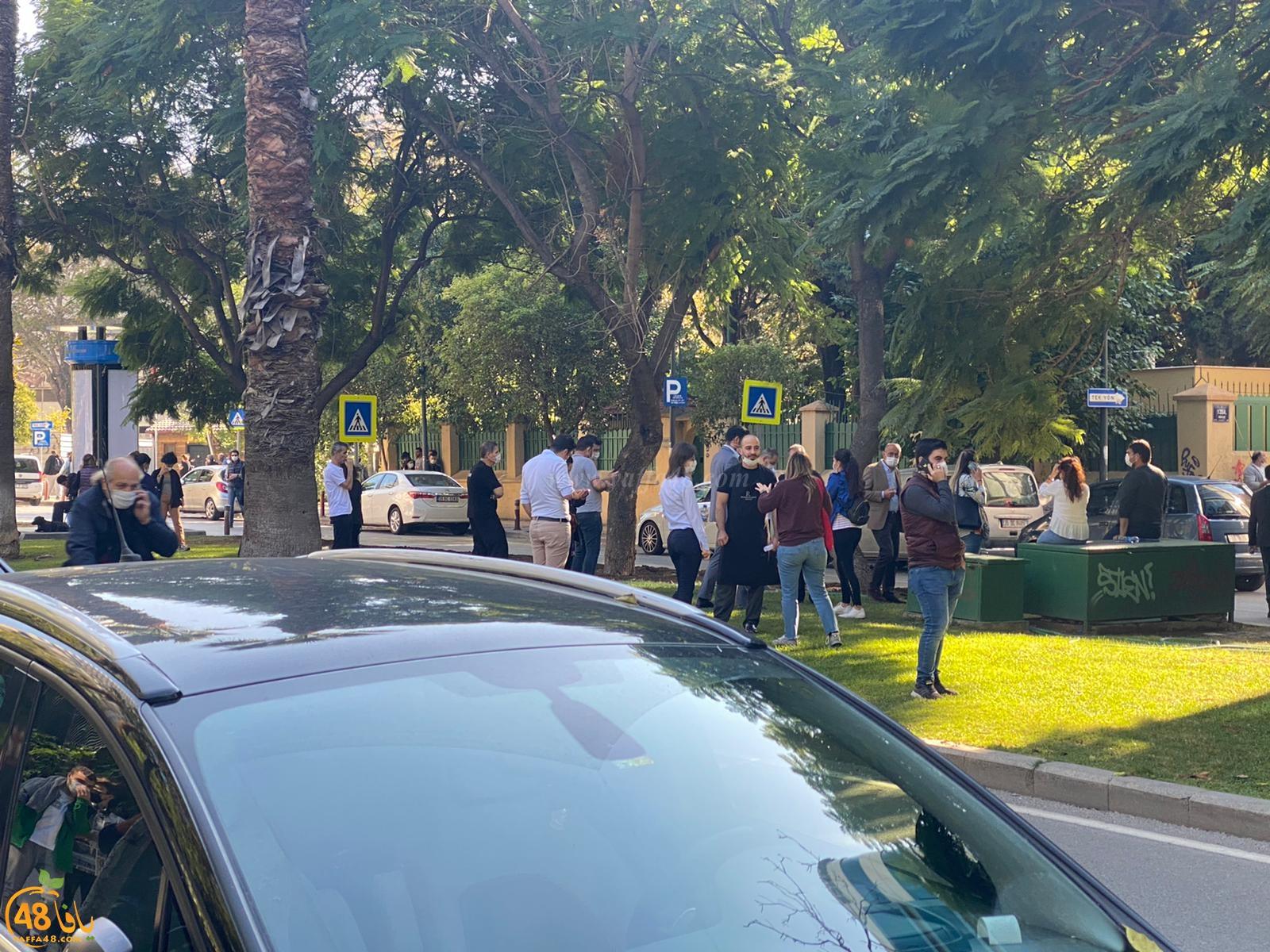 مواطنون من يافا: شعرنا بهزّة أرضية أثناء تواجدنا في أزمير بتركيا