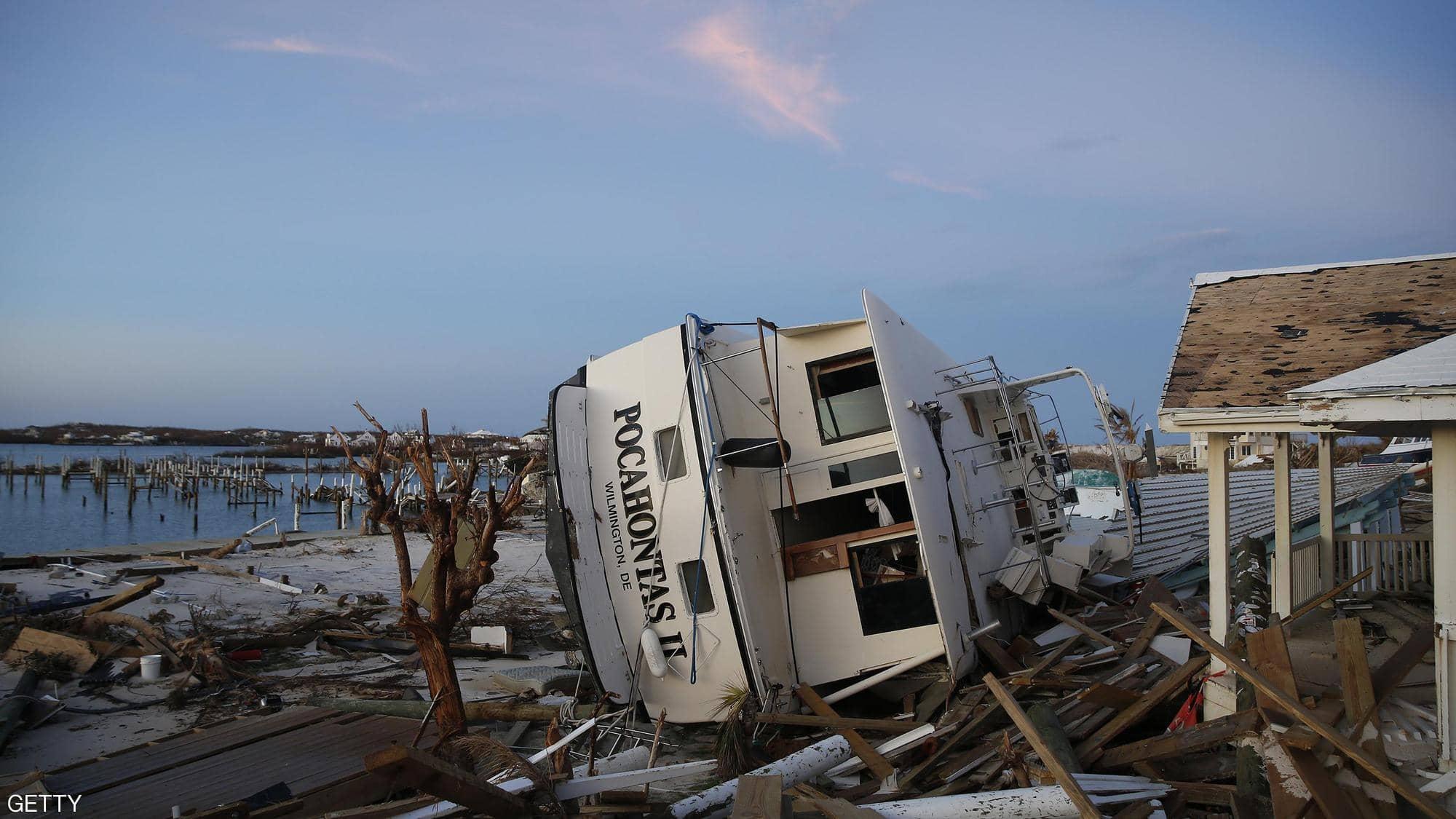 إعصار دوريان.. عشرات القتلى وآلاف المفقودين، ودمار هائل بالباهاما