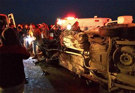 مصرع شخص وإصابة 20 في حادث طرق مروّع قرب حاجز ميتار في الجنوب
