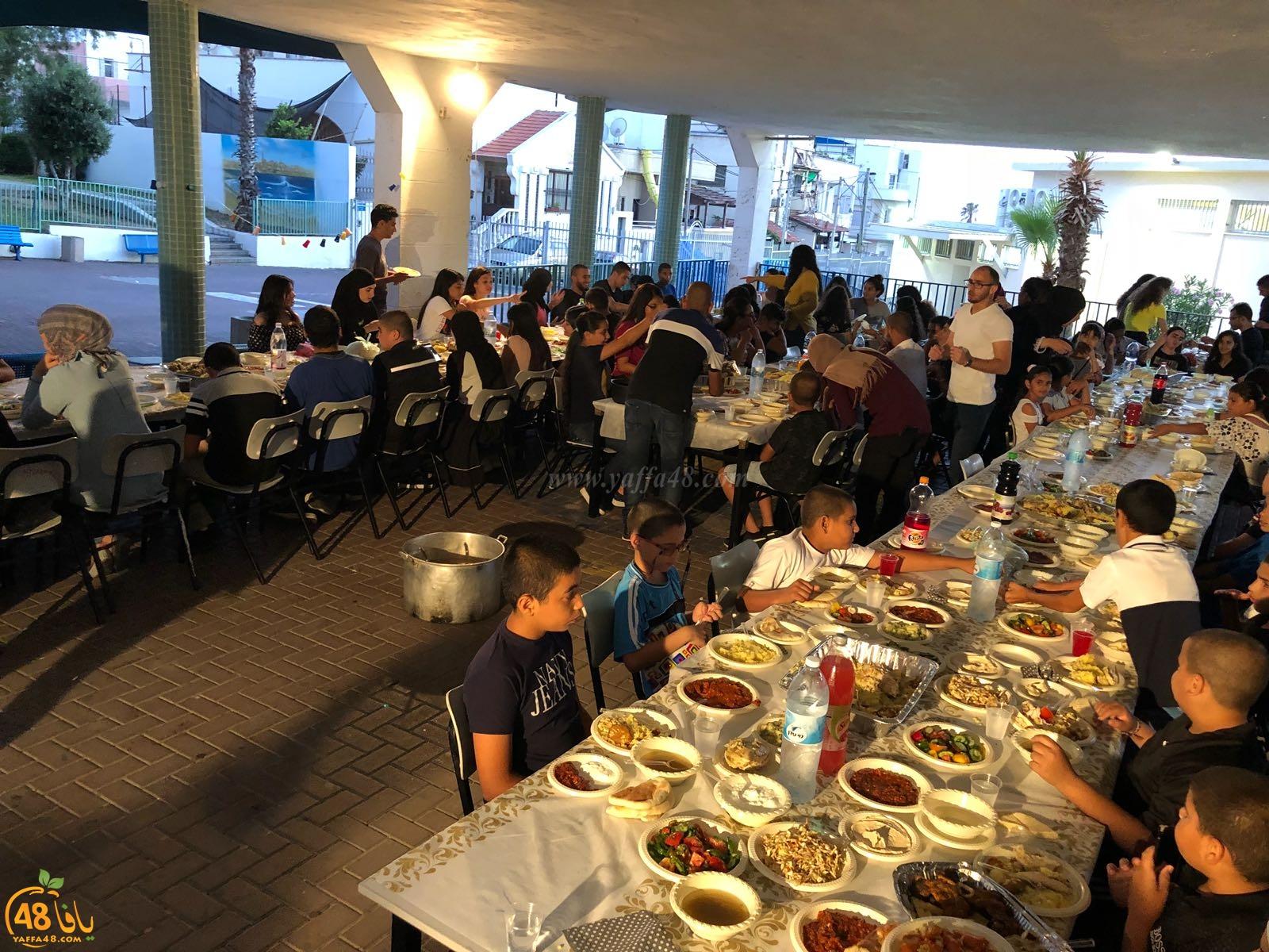 إفطار جماعي لمراكز يافا الاكاديمية التعليم الى القمم
