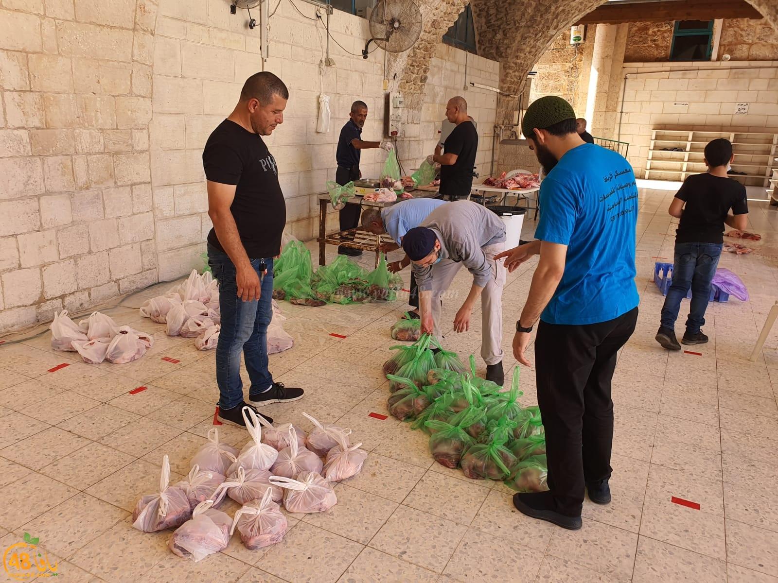 لجنة الزّكاة في اللّد تستقبل كميّات كبيرة من لحوم الأضاحي بأول أيام العيد